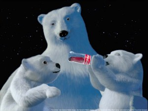 -Winter-season-Coca-cola-Christmas-Polar-Bears-Baby-Animals-Fresh-New-Hd-Wallpaper--