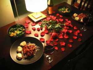 cina-romantica-acasa